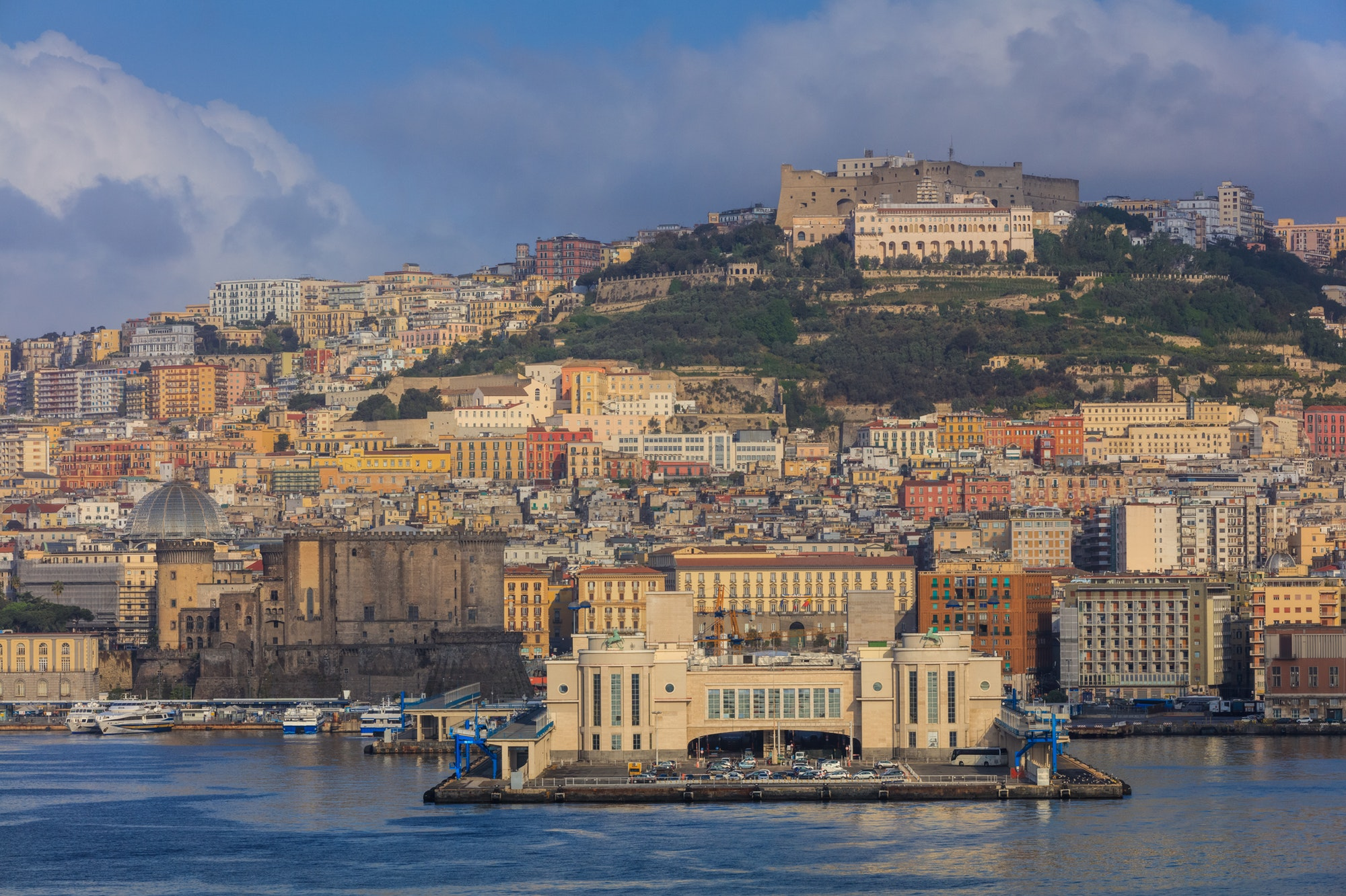 Port of Naples, Italy